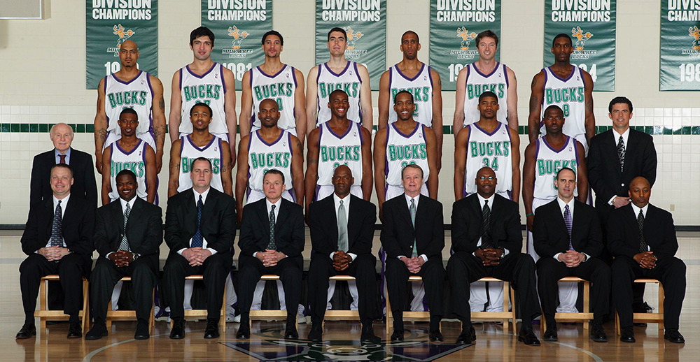 Milwaukee Bucks 2004-05 Team Photo