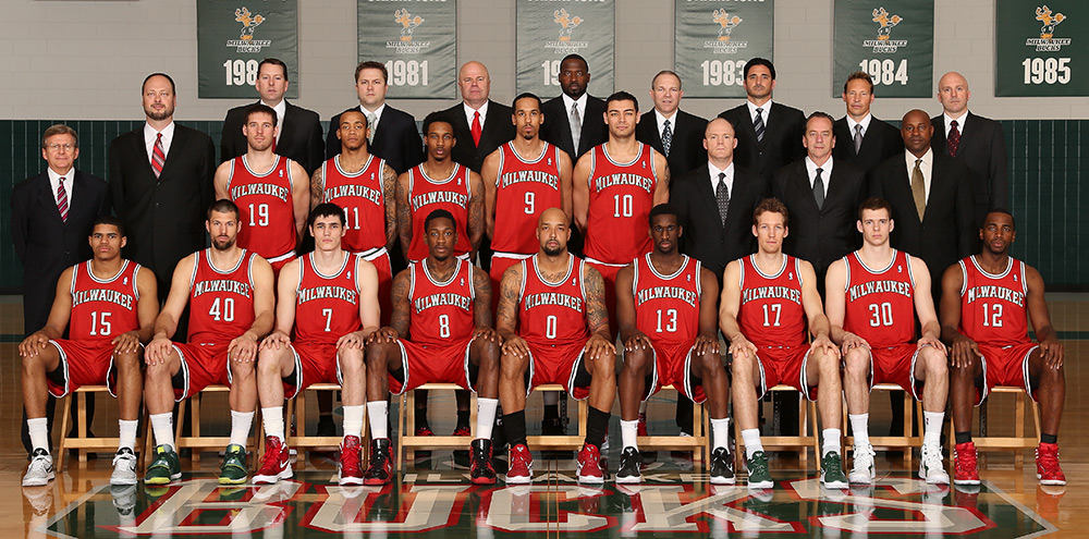 Milwaukee Bucks 2011-12 Team Photo