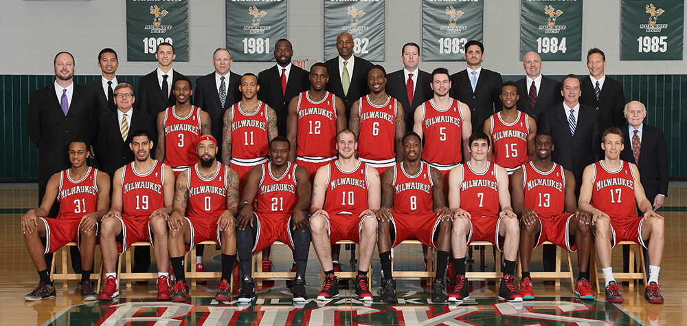 Milwaukee Bucks 2012-13 Team Photo