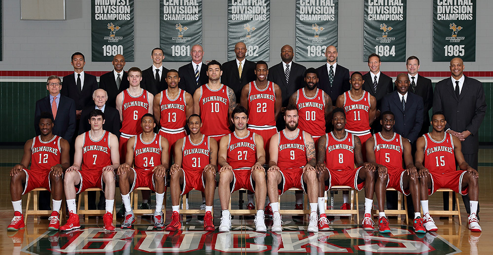 Milwaukee Bucks 2013-14 Team Photo