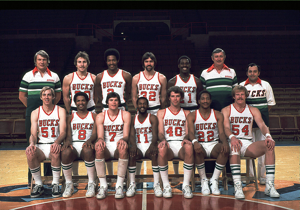 Milwaukee Bucks 1977-78 Team Photo