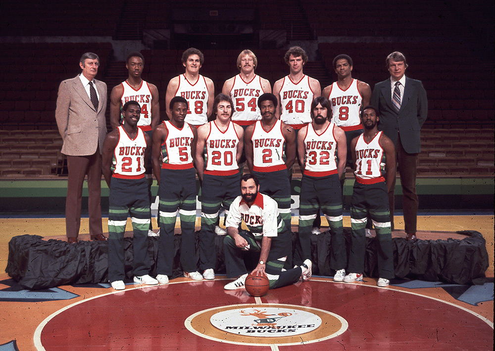Milwaukee Bucks 1978-79 Team Photo