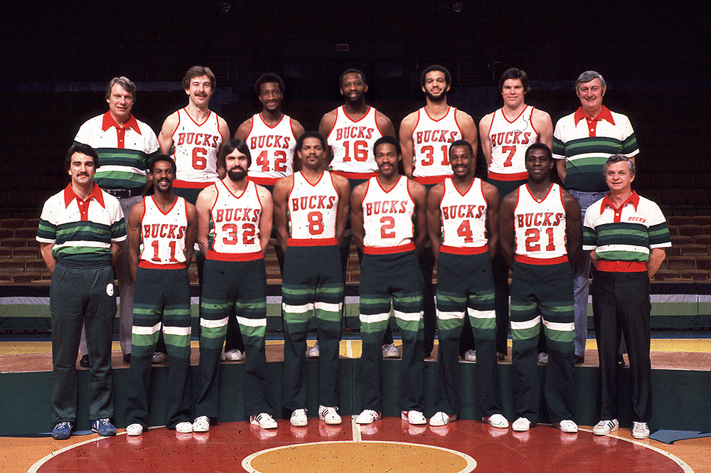 Milwaukee Bucks 1979-80 Team Photo