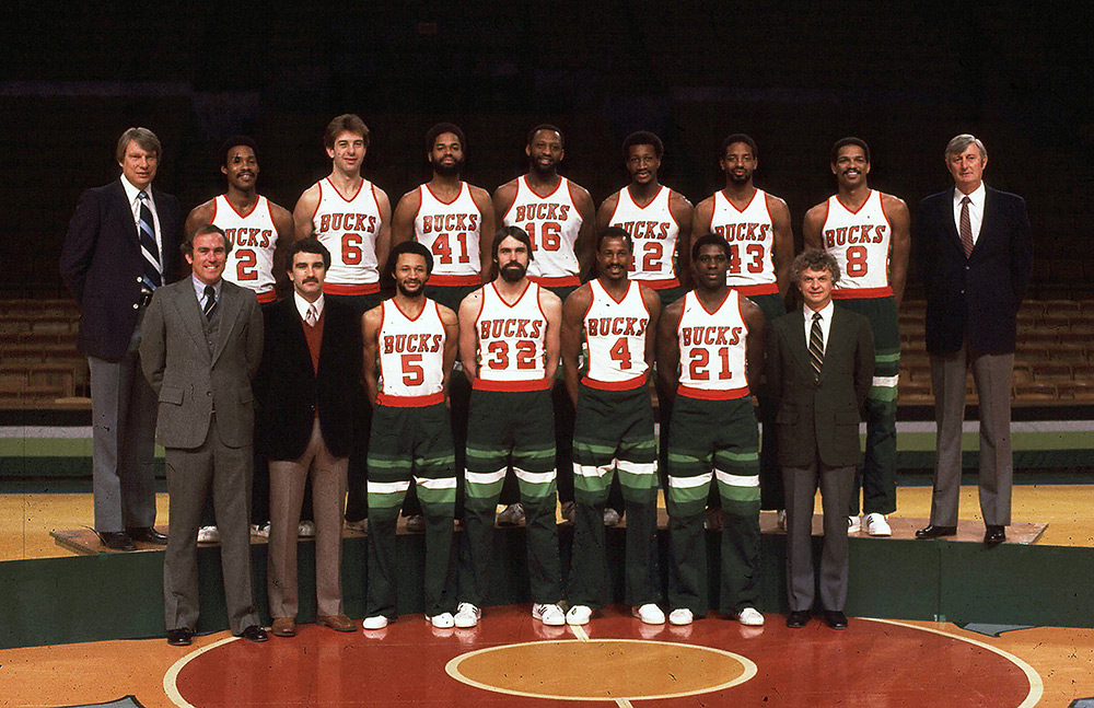 Milwaukee Bucks 1980-81 Team Photo