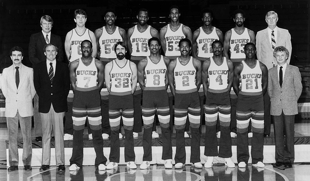 Milwaukee Bucks 1981-82 Team Photo