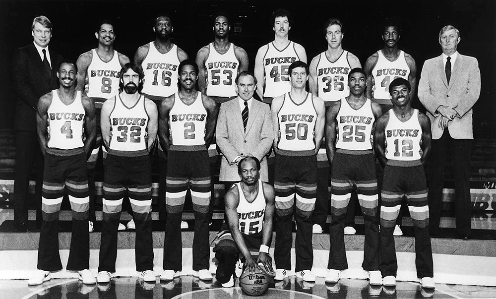 Milwaukee Bucks 1982-83 Team Photo