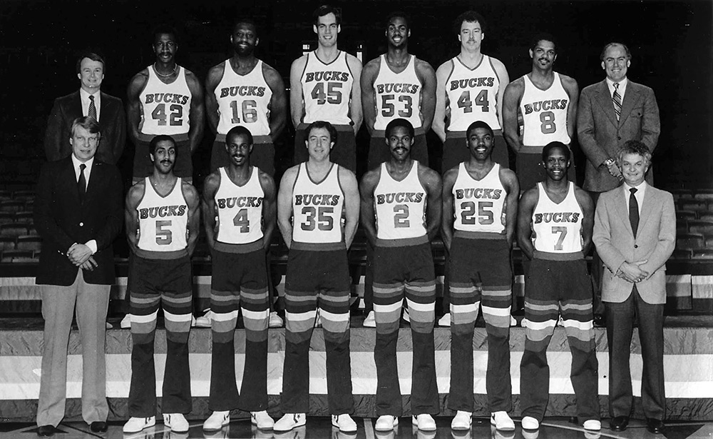 Milwaukee Bucks 1983-84 Team Photo