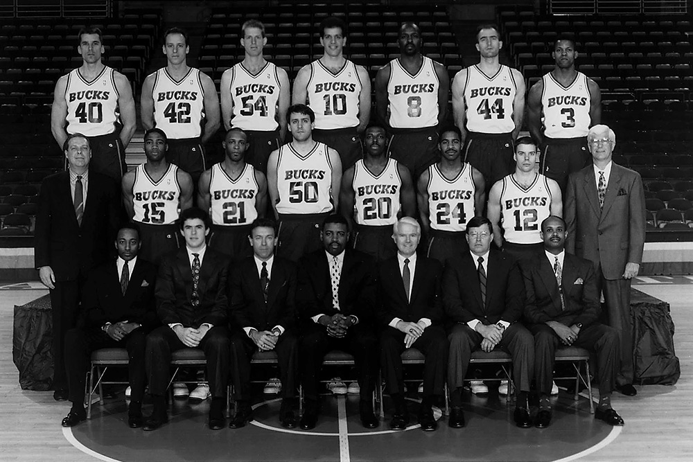 Milwaukee Bucks 1991-92 Team Photo