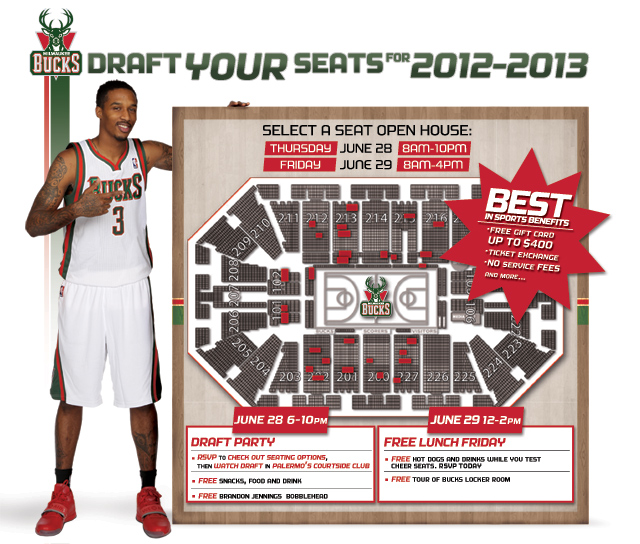 Bucks Select A Seat Event