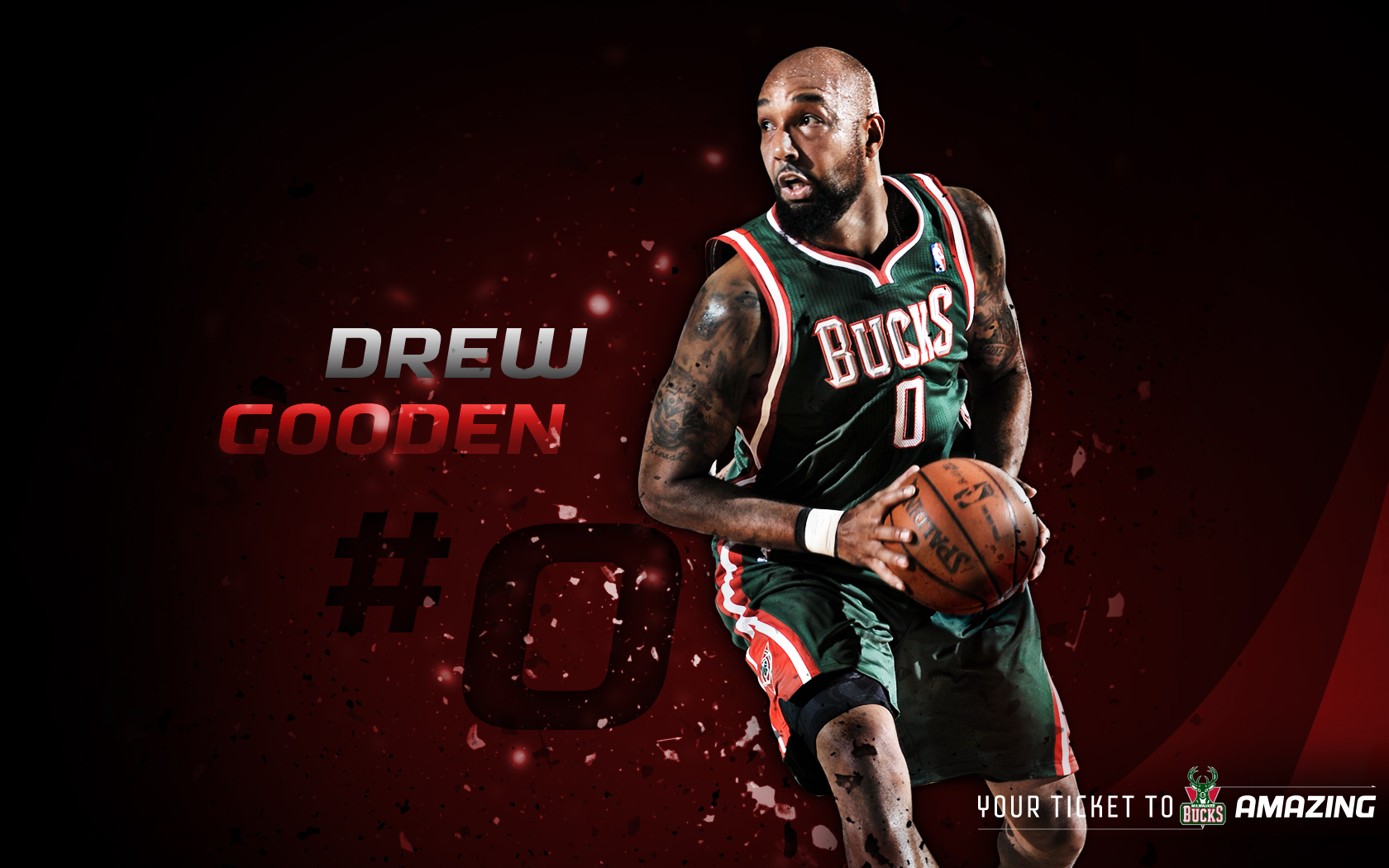 Bucks Roster Drew Gooden 2012 13