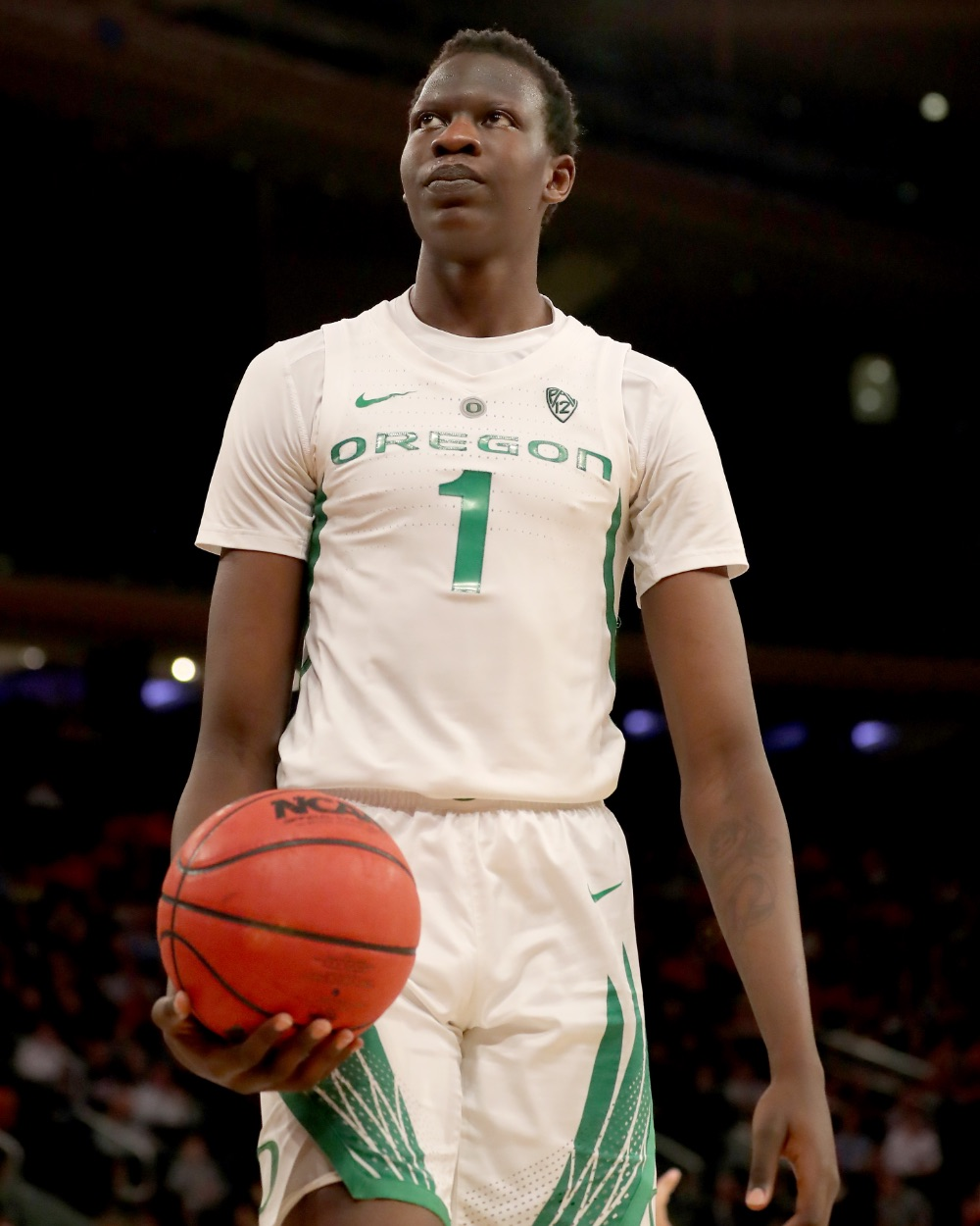 Bol Bol out of Oregon