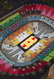 3D seatviewer of the United Center