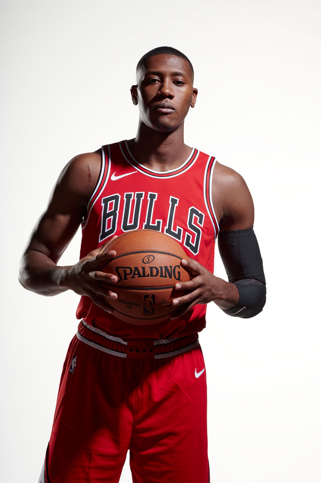 Kris Dunn of the Chicago Bulls poses for a photo for Media Day
