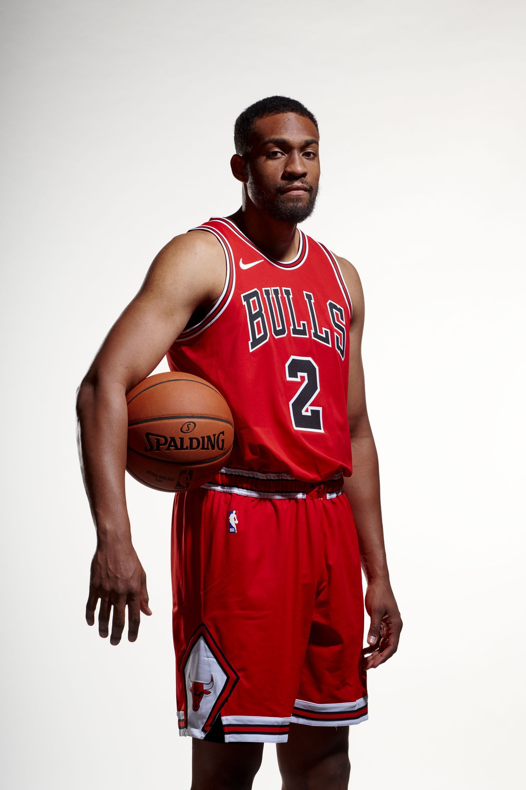 Jabari Parker of the Chicago Bulls poses for a photo for Media Day