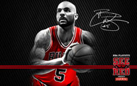 2012 Playoffs: Carlos Boozer Wallpaper