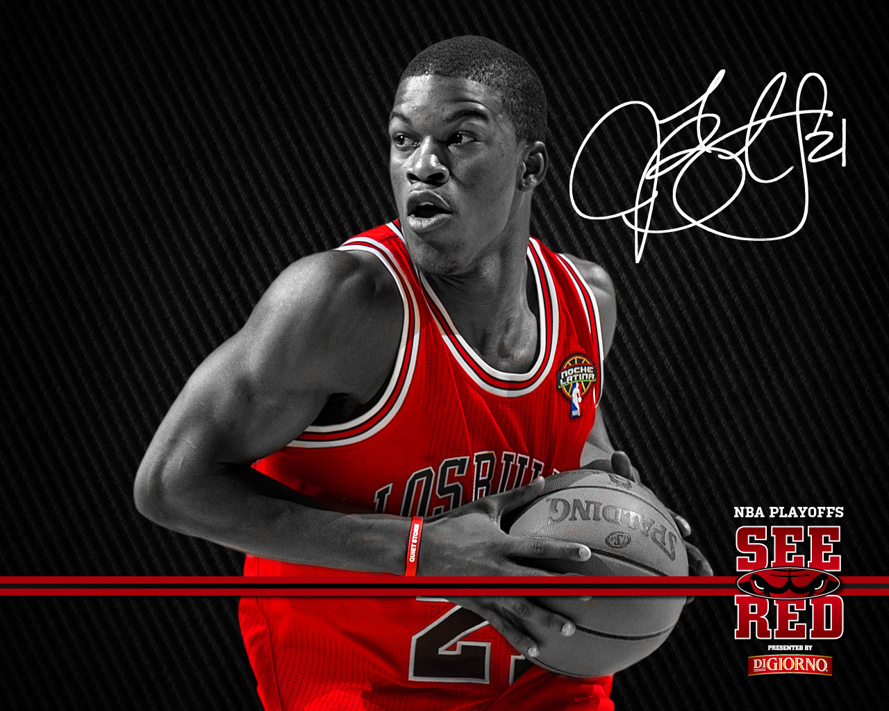 2012 Playoffs See Red Wallpaper  Chicago Bulls