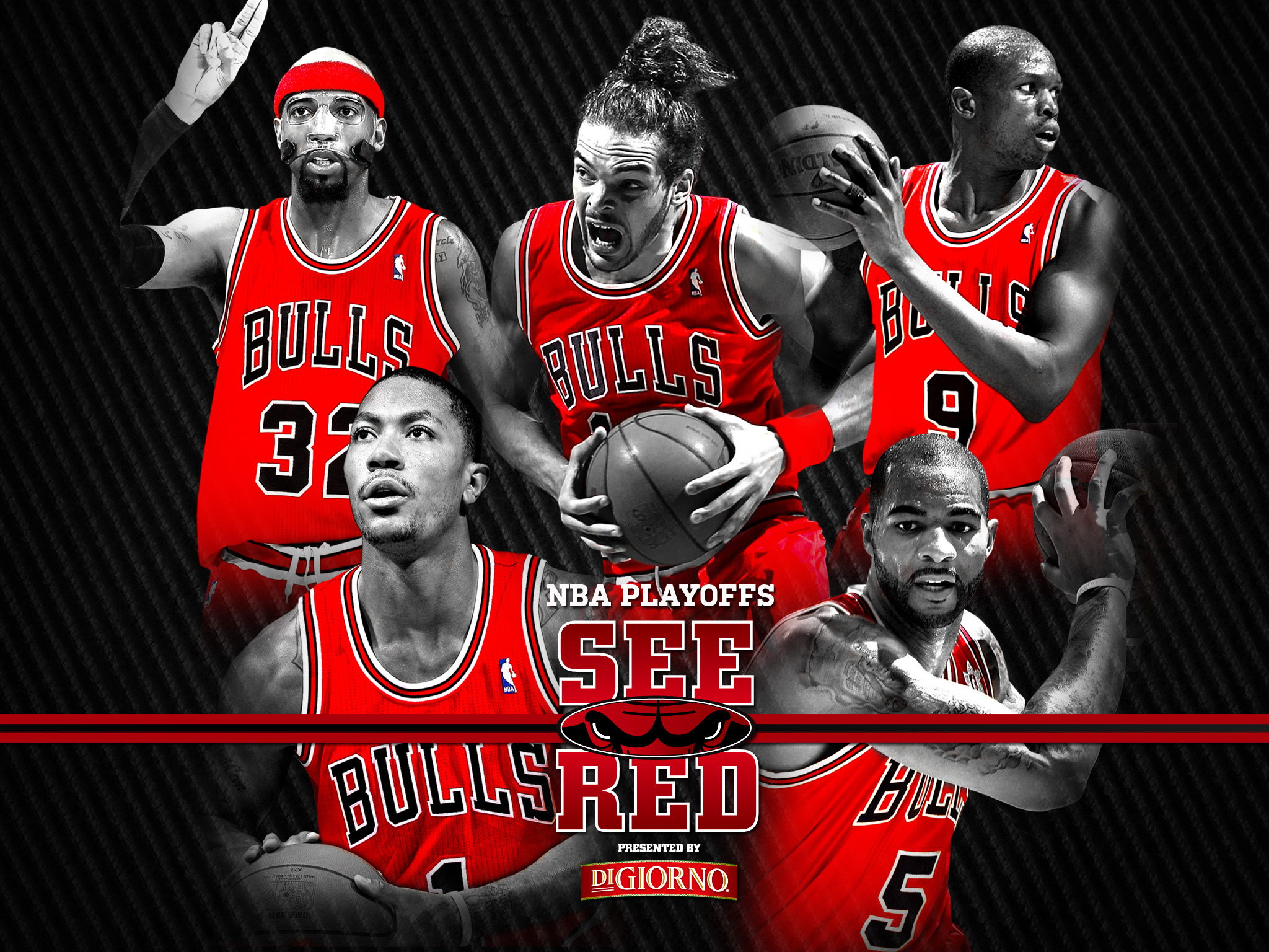 2012 playoffs: see red wallpaper | chicago bulls