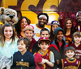 FOX Sports Ohio Cavs Fan Express