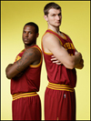 Tyler Zeller and Dion Waiters