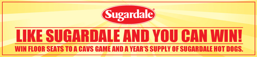 Cavaliers Like Sugardale Foods and Win Sweepstakes