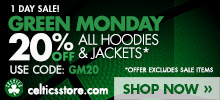 Green Monday Sale!