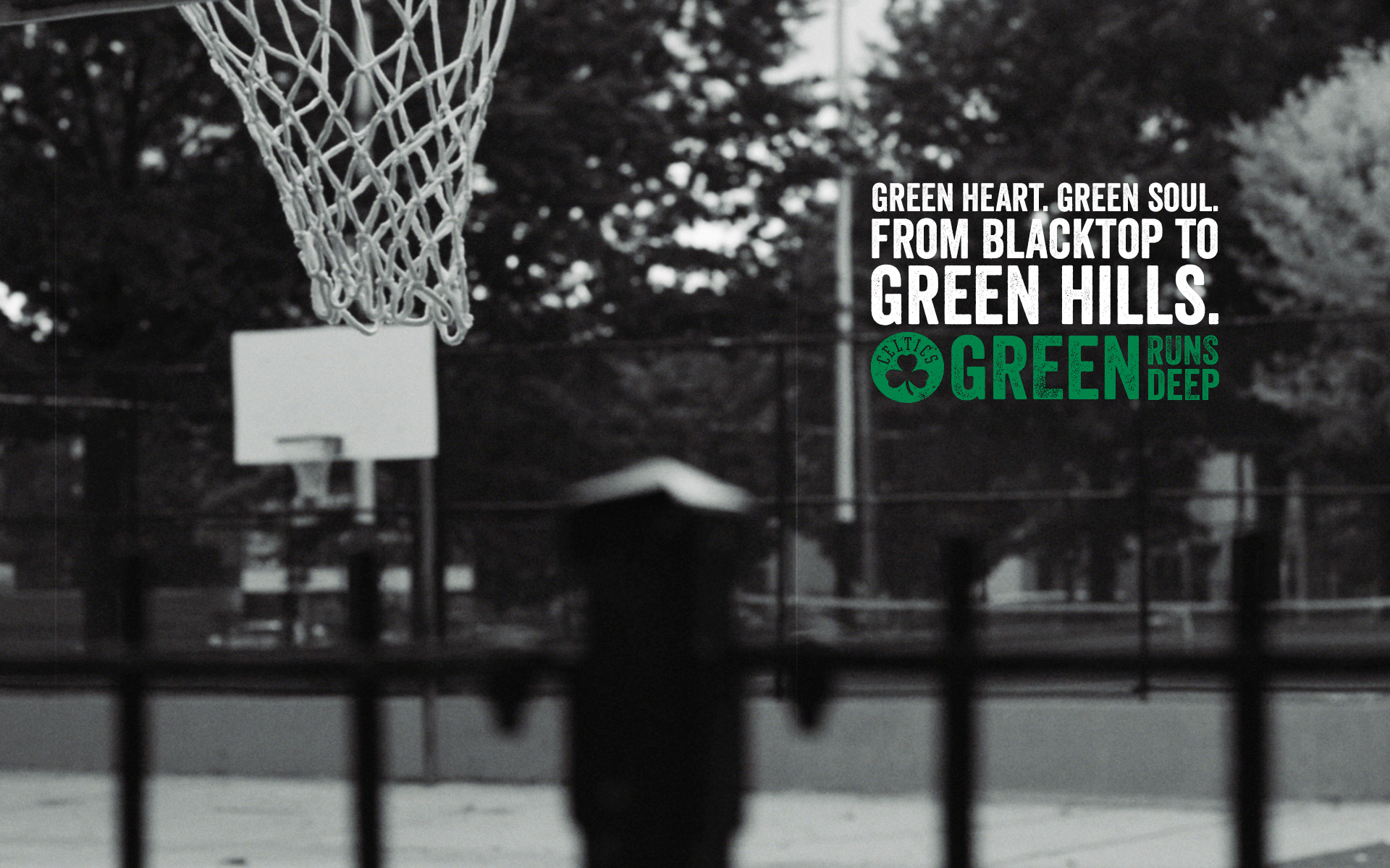 FROM BLACKTOP TO GREEN HILLS