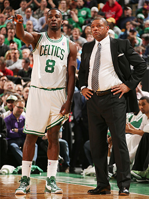 Jeff Green and Doc Rivers