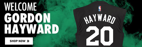 Get Your Gordon Hayward Jersey Today