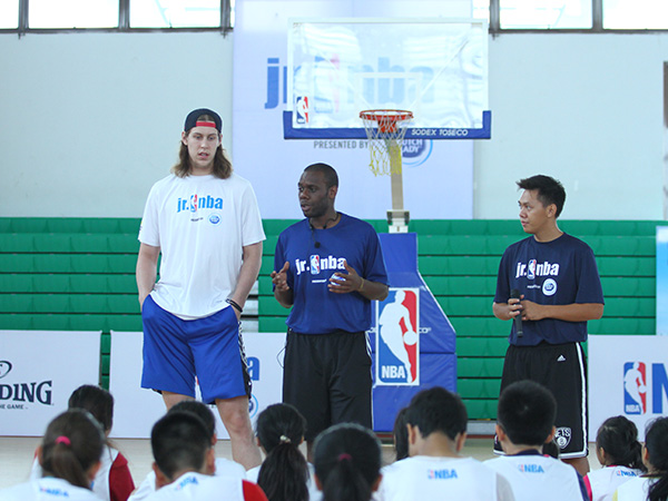 Kelly Olynyk in Vietnam