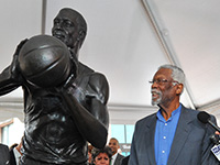 Bill Russell Statue Unveiled