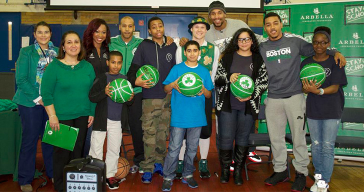 C's Host Stay in School Event at the Edison School