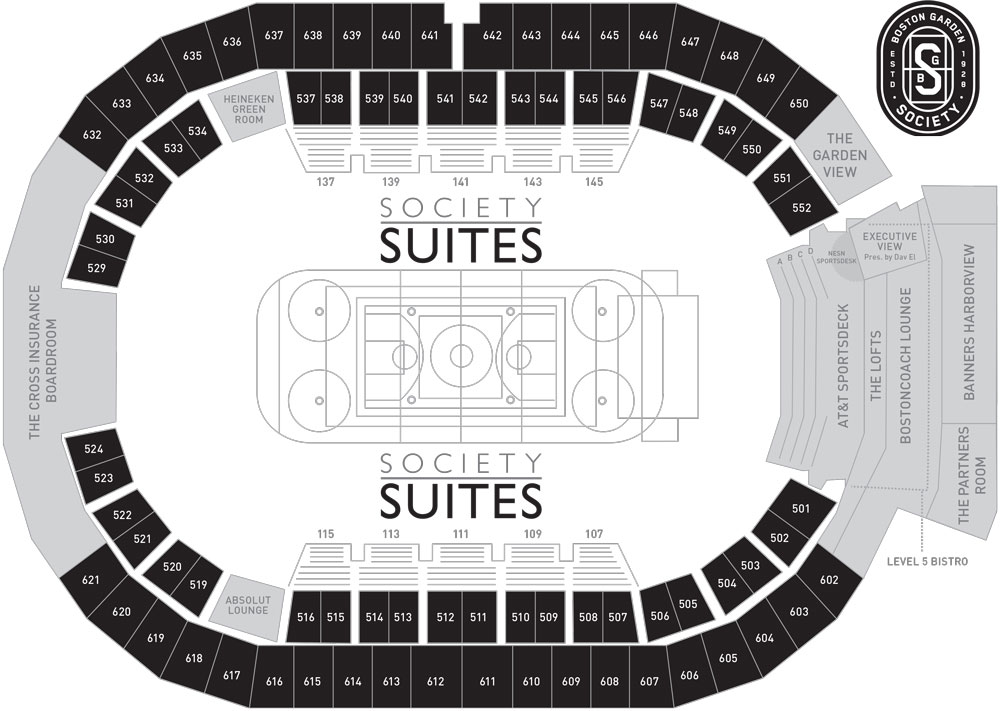 Will Experience Street To Seat Entrances Featuring Elevators That Bring You Directly Your Suite Level Packages Are Available In Celtics Only