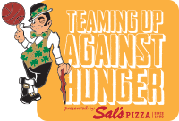 Teaming Up Against Hunger presented by Sal's Pizza