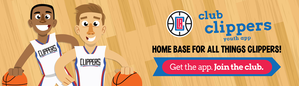 Download the new Club Clippers youth app today