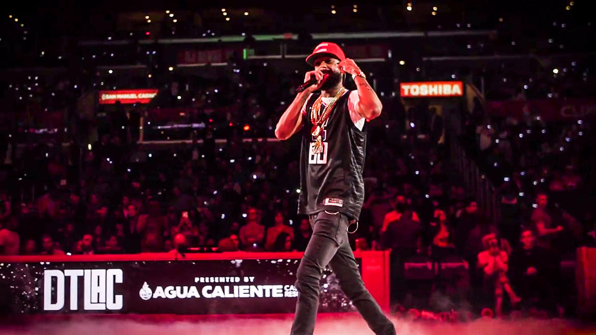 Nipsey Hussle DTLAC halftime performance