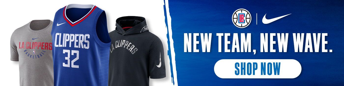 New Clippers x Nike merch on sale