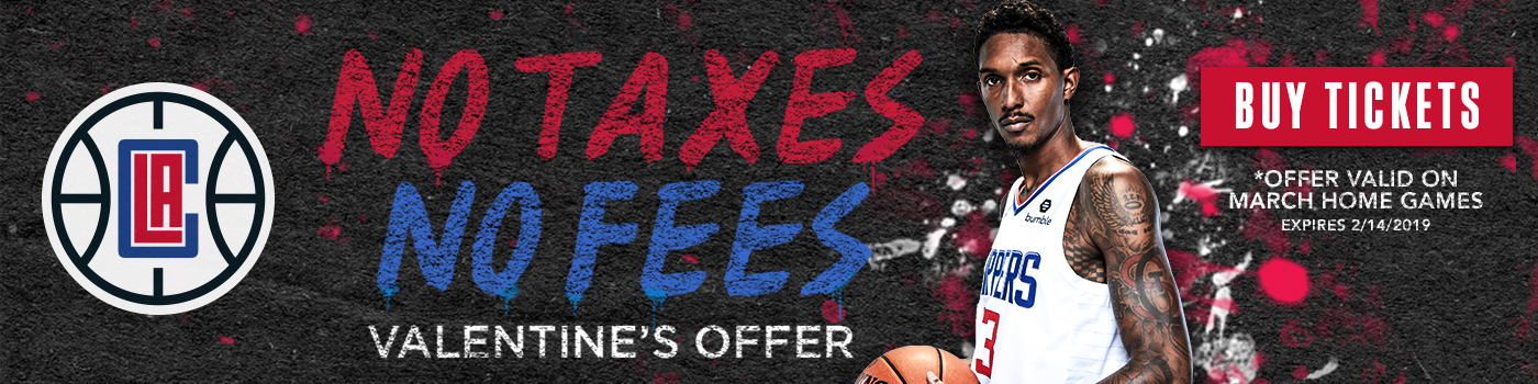Clippers Valentines Day Offer