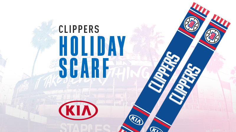 Holiday Clippers Scarf Giveaway