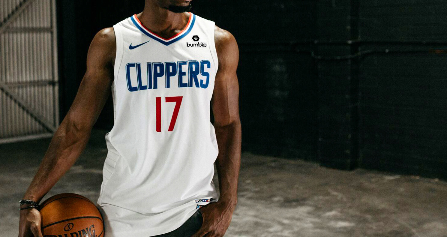 Angeles clippers los uniform vintage