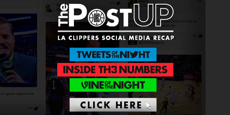 LA Clippers Social Media Recap