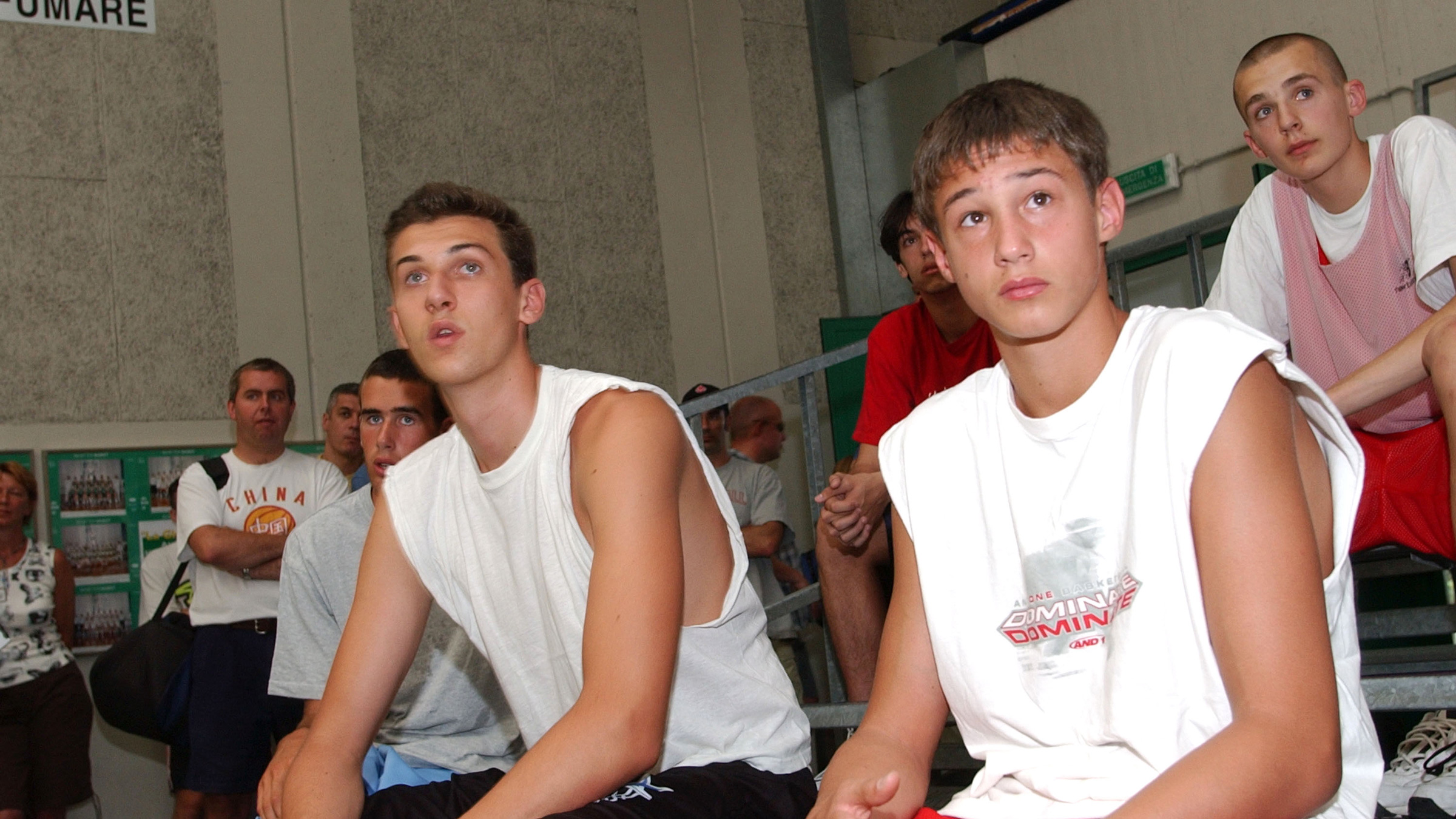 Danilo Gallinari and Andrea Bargnani