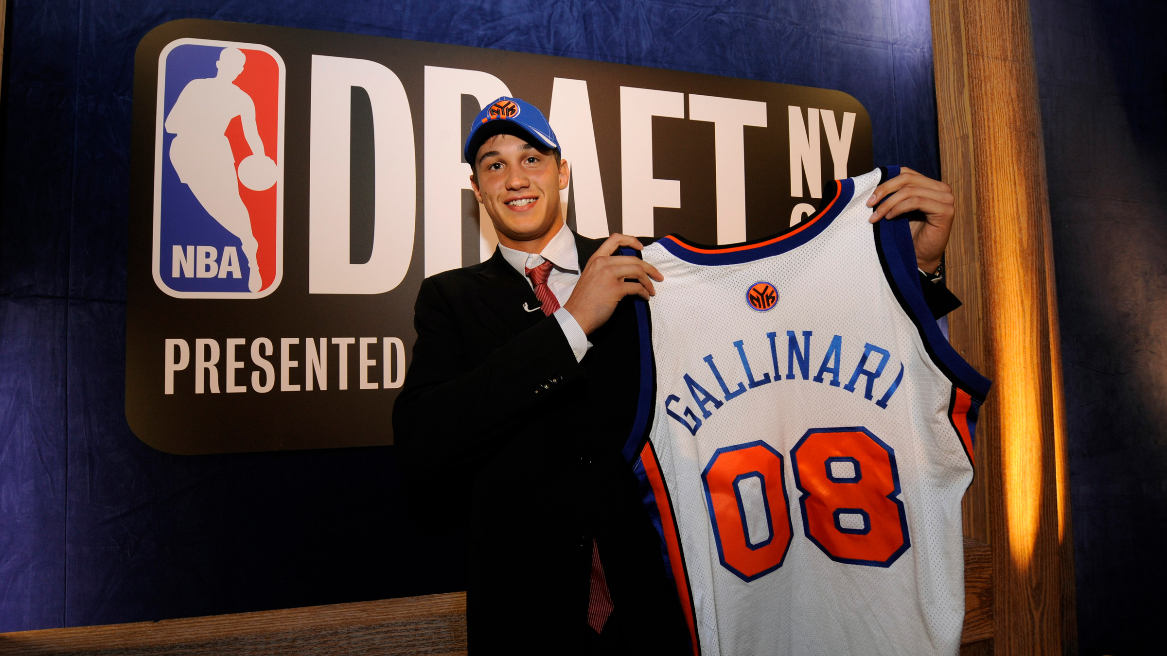 Danilo Gallinari on NBA Draft Day