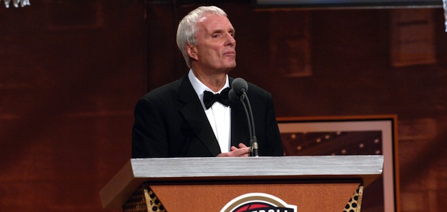 Hubie Brown at the NBA Hall of Fame