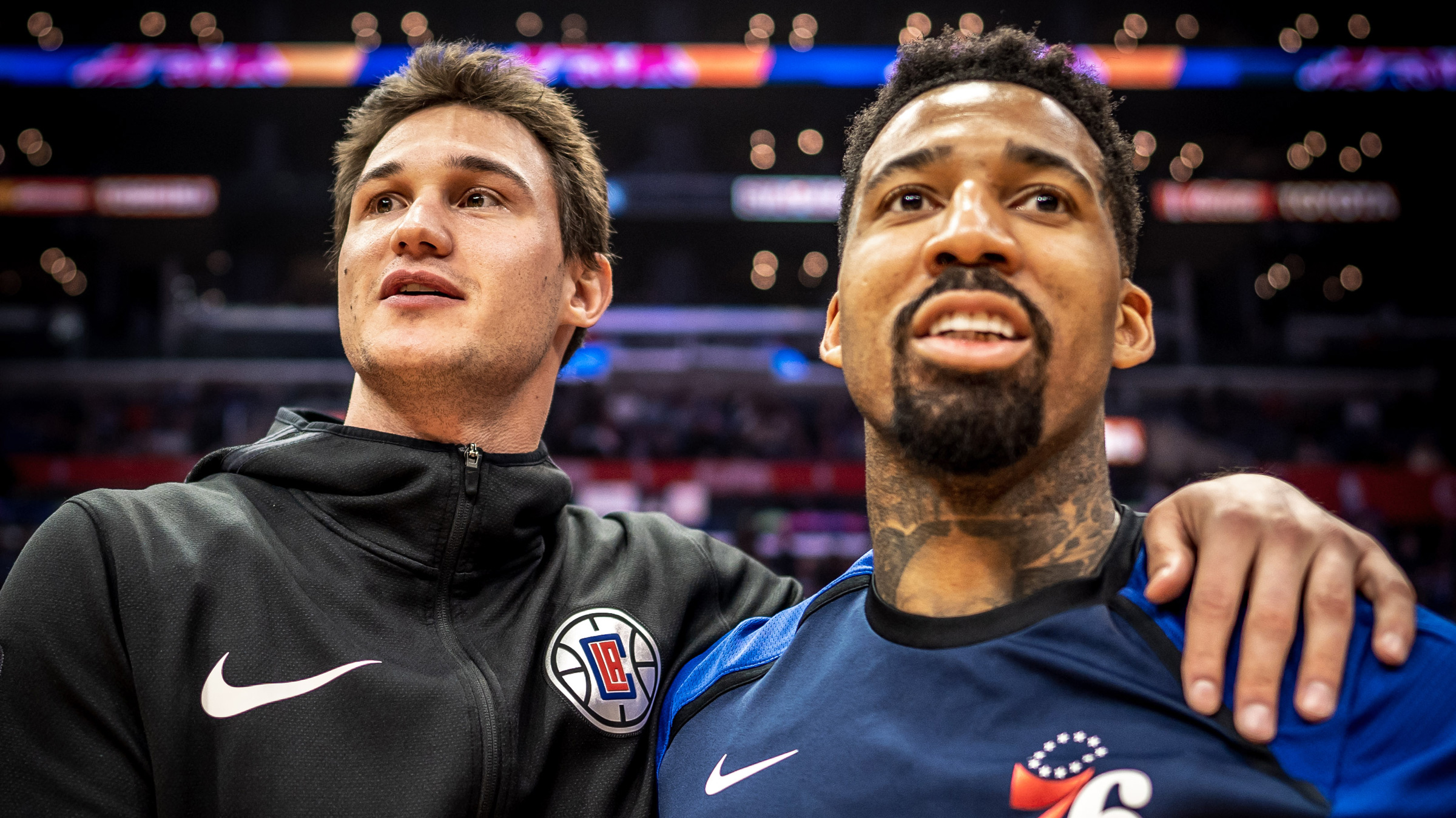 Danilo Gallinari and Wilson Chandler