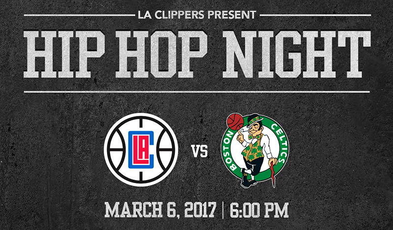 Hip Hop Night | Los Angeles Clippers