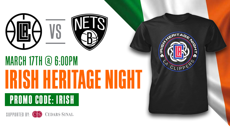 Irish Heritage Night