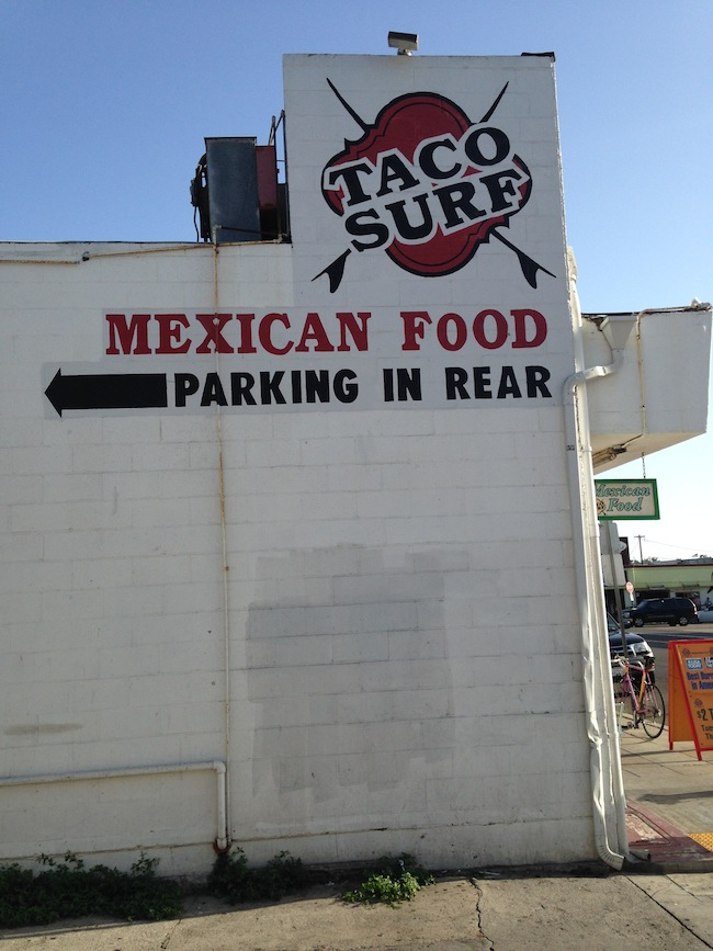 Photo of a taco restaurant in San Diego