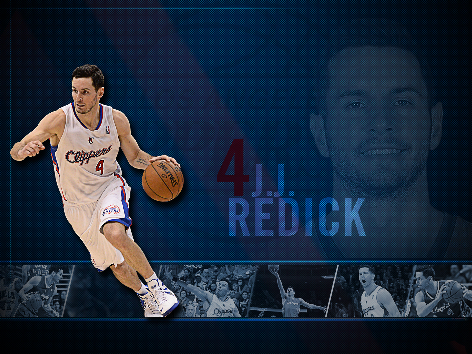 best service 4effc 415a3 JJ Redick - Roster | Los Angeles Clippers