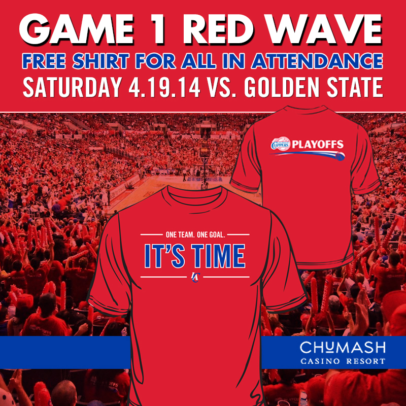 CLIPPERS SHIRT GIVEAWAY