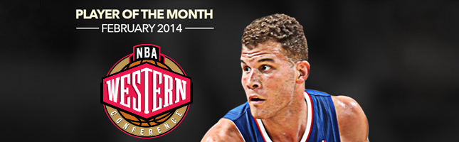 Blake Griffin Player of the Month